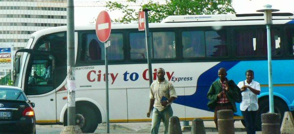 City to City Express bus