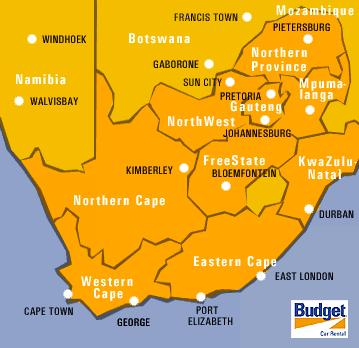 Map Of Bloemfontein South Africa | Map Of Africa