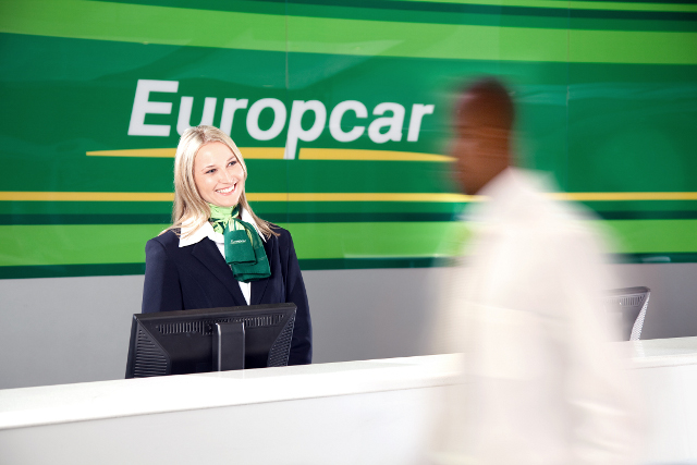 Europcar reservations counter