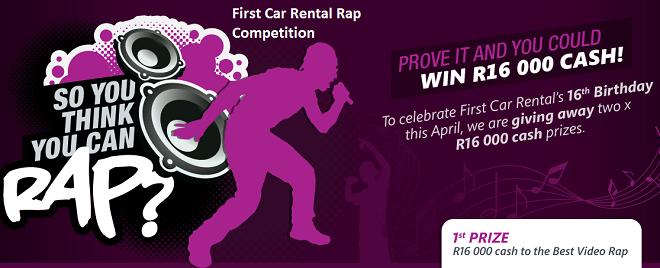 Eirst Car Rental Rap Competition