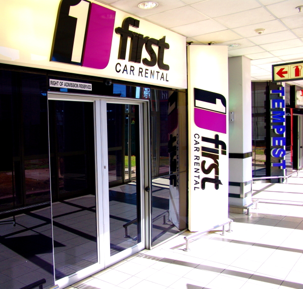 First Car Rental offices at Johannesburg O.R. Tambo Airport