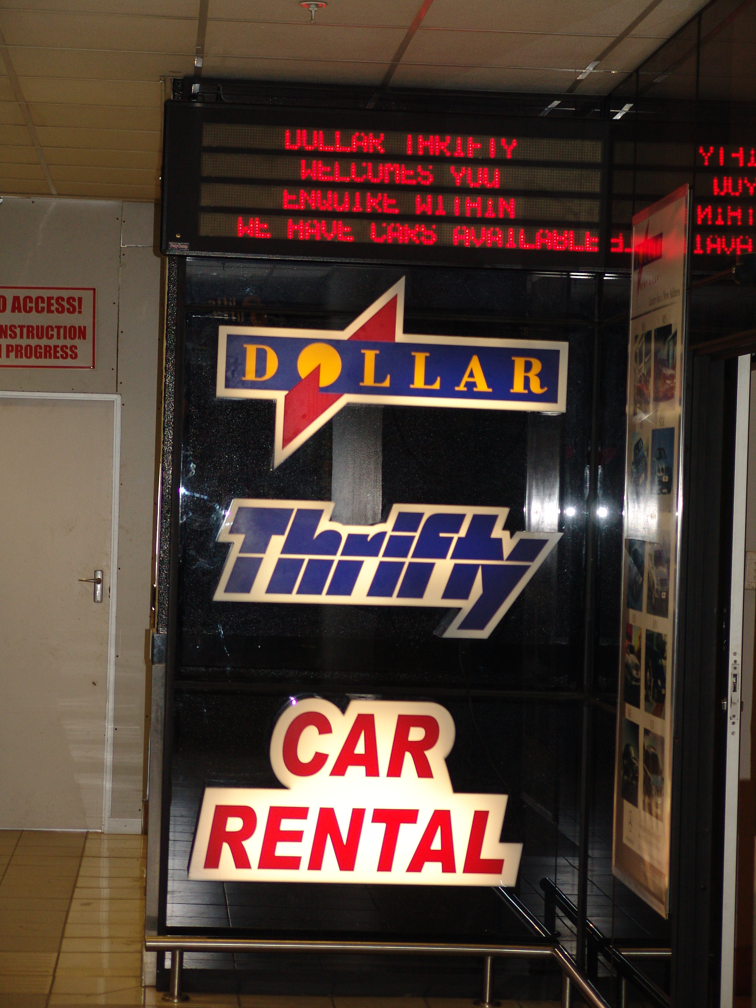 Thrifty Car Rentals >> Thrifty Car Rental Bookings