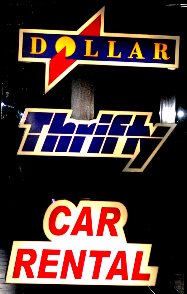 Thrifty Car Rental offices at O.R. Tambo International Airport