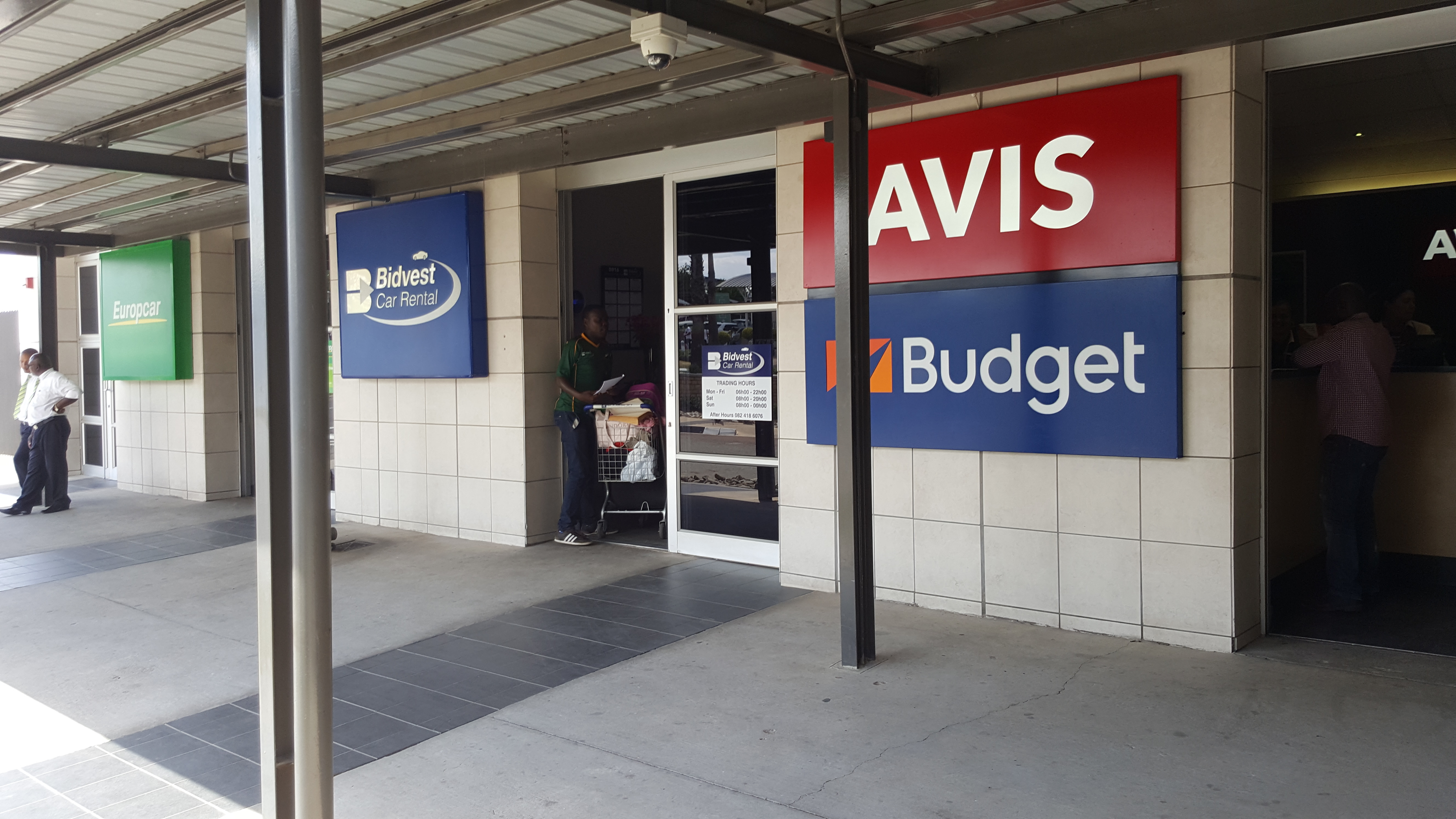 Bidvest Car Rental Is Sandwiched Between Europcar And Avis Budget; At  Lanseria International Airport