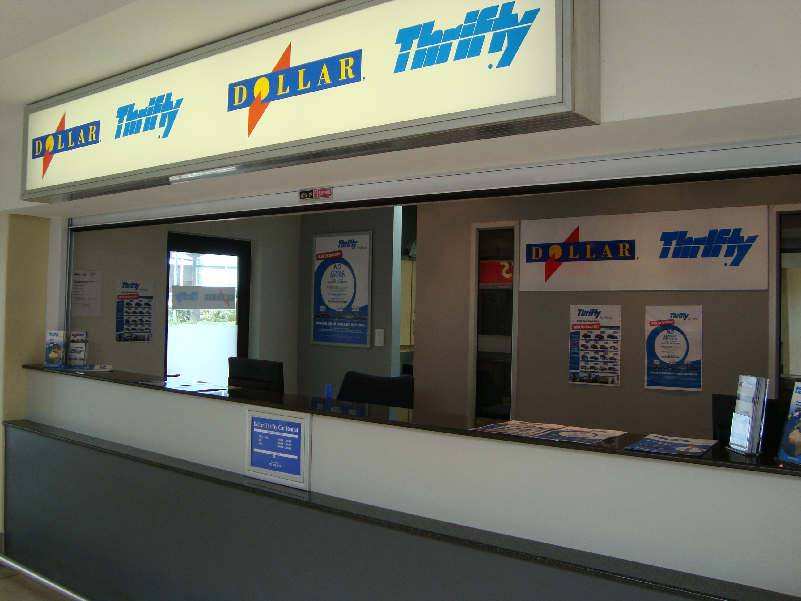 Thrifty Car Rental Ag George Airport
