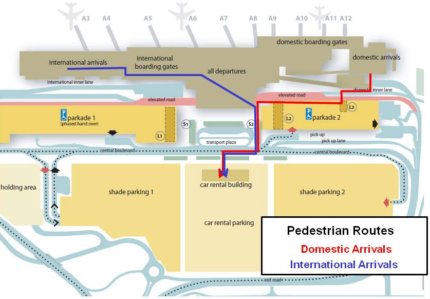 Image Gallery Johannesburg Airport Terminal Map
