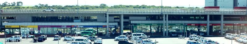 car rental agencies at Durban's King Shaka International Airport