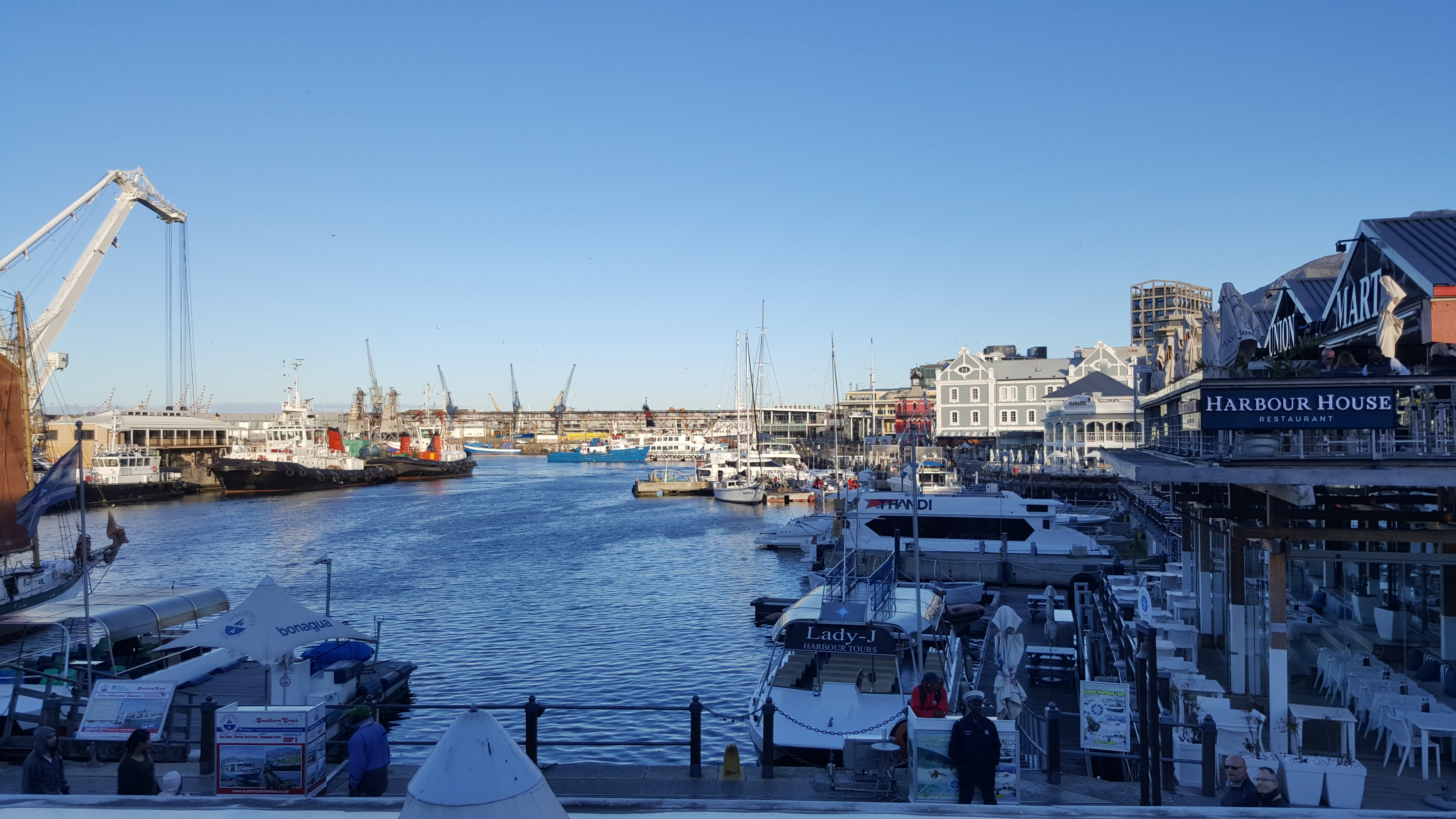Cape Town Harbour in Photos