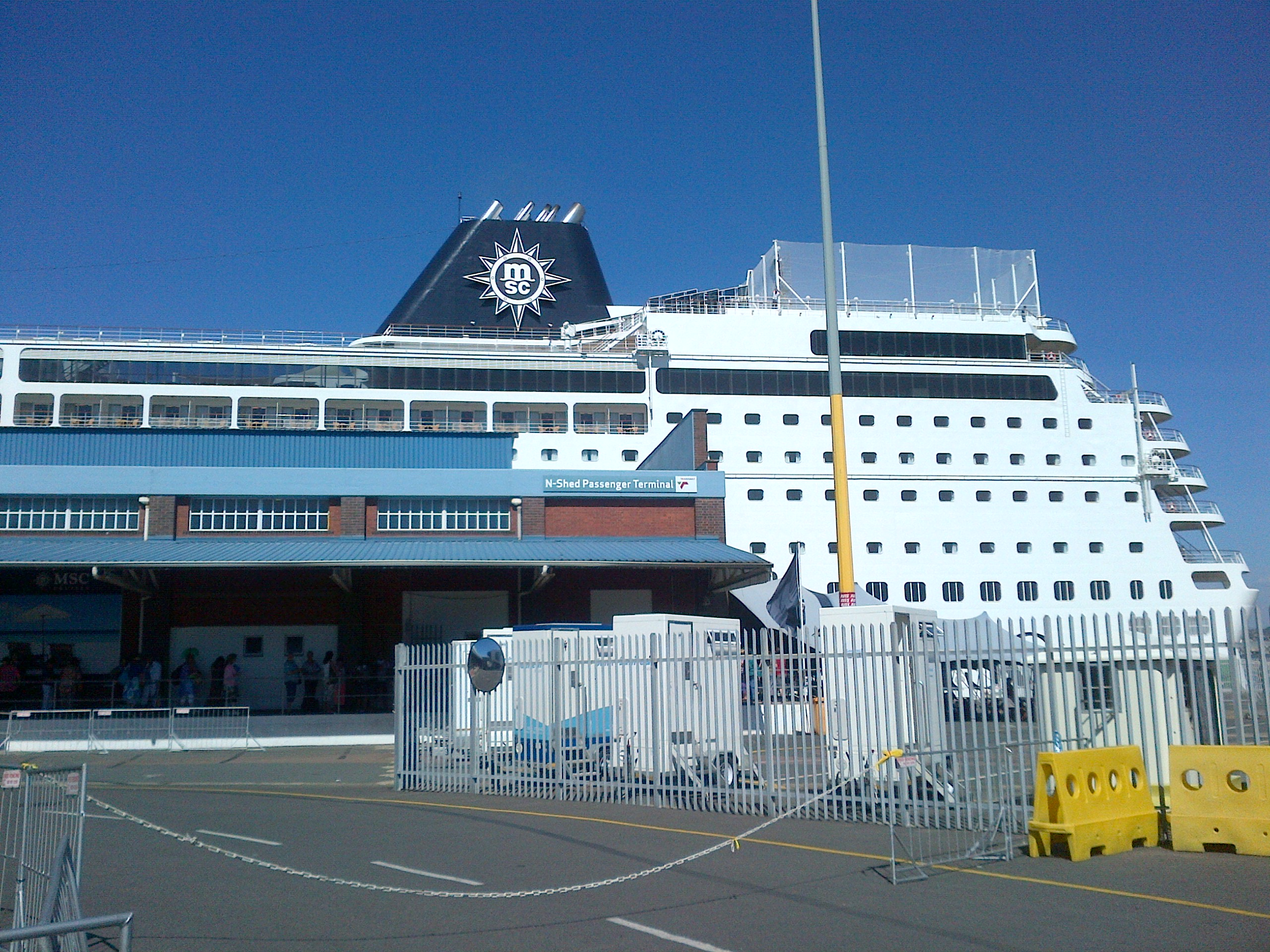 Kulula To Durban To MSC Cruise