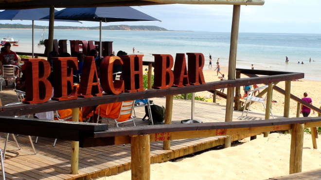 Beach Bar, Portuguese Island, Mozambique
