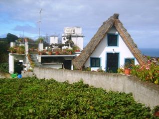 Madeira, traditional houses