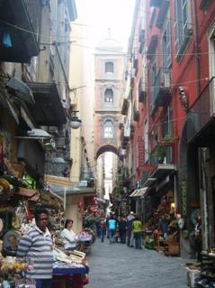 Naples, alley