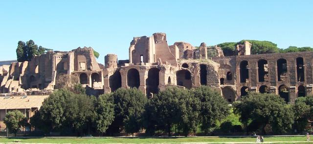 Rome's ruins