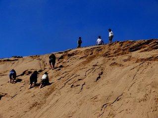 Walvis Bay dune climbing