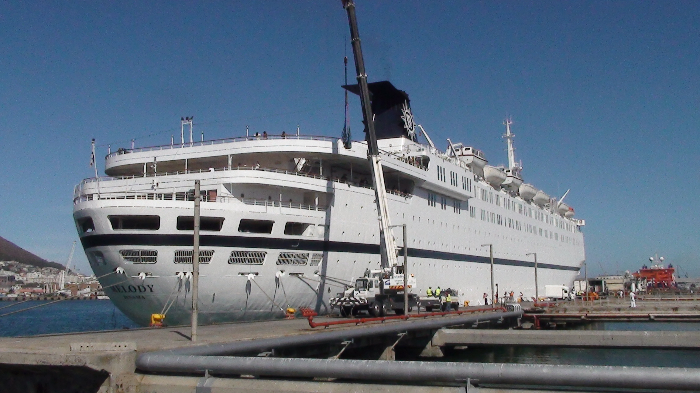 Cruise From Cape Town To Nowhere - Symphony cruise ship south africa