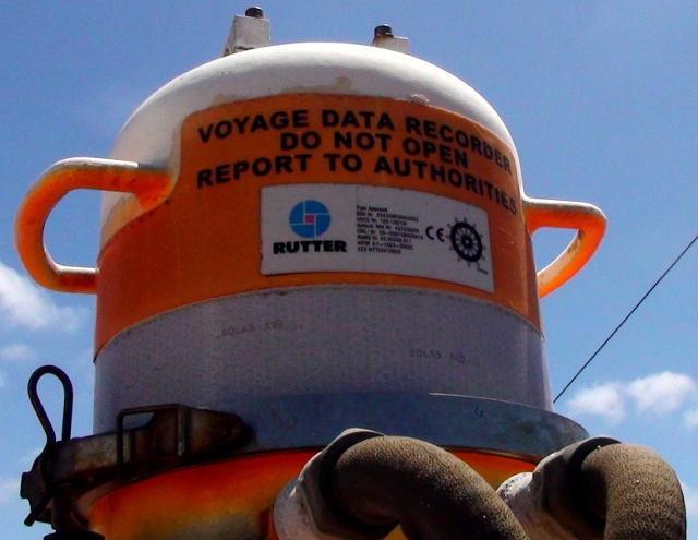 Voyage Data Recorder : Cruise from cape town to quot nowhere