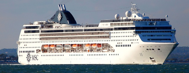 December 2014 Cruises Southbound Voyage On The Msc
