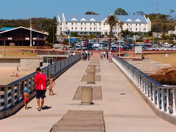Road Lodge Hotel as seen from the Boardwalk in Port Elizabeth