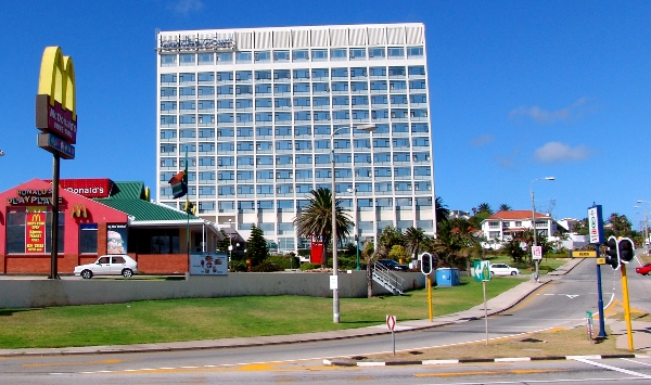 Garden Court hotel in Port Elizabeth