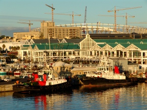 Enseleni & Pinotage tugboat in Cape Town