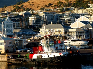 Enseleni tugboat in Cape Town harbour