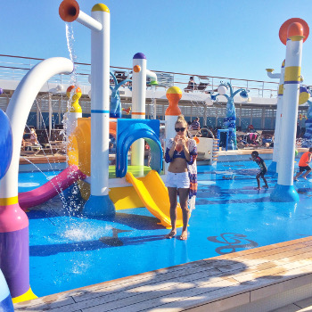 MSC Sinfonia spray park