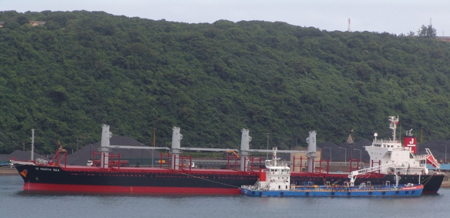 ID North Ship in Durban harbour
