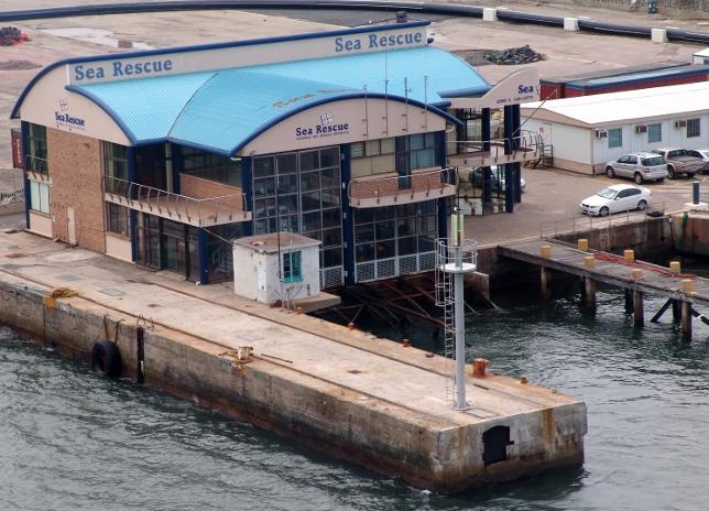 National Sea Rescue Institute in Durban Harbour