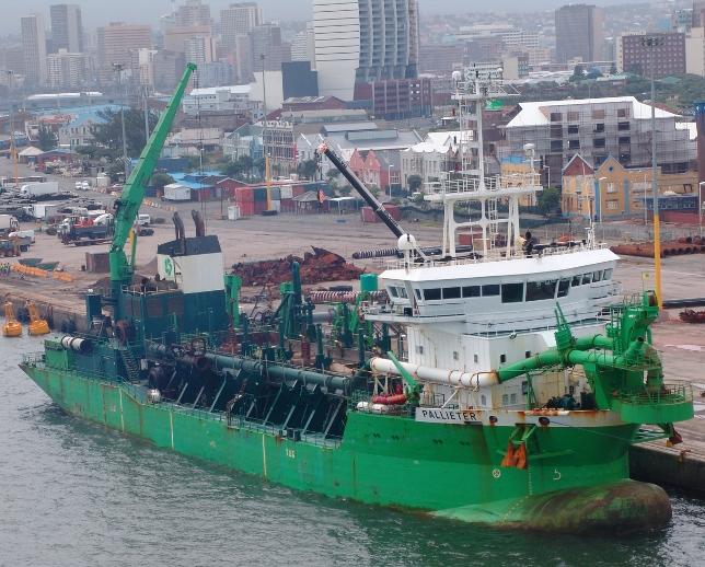 Pallieter in Durban Harbour