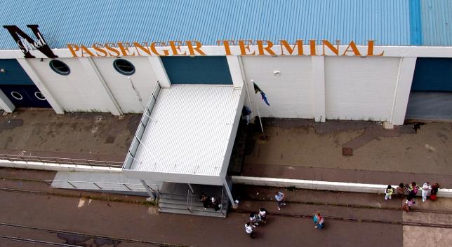 Passenger Terminal in Durban Harbour