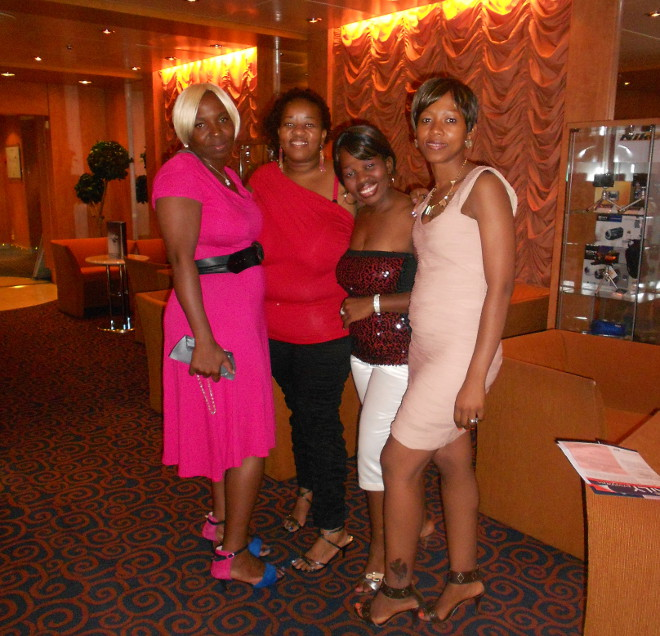 A formal evening on the MSC Sinfonia