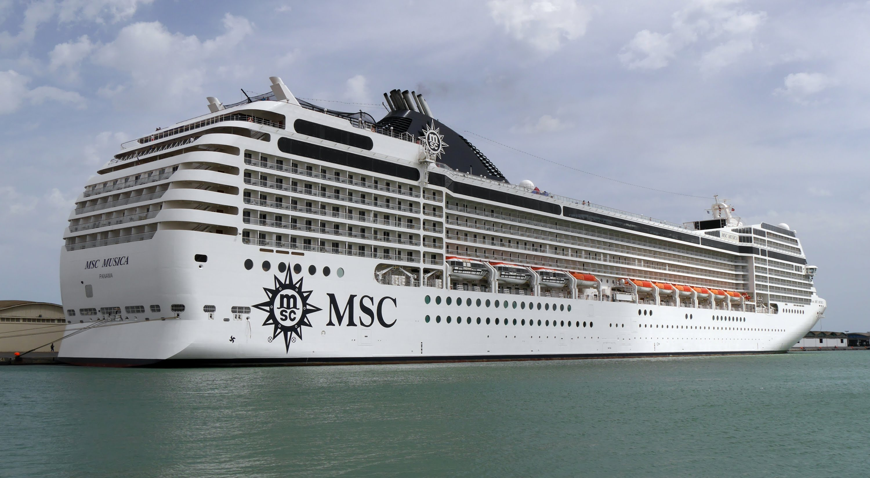 Apply for a job on a ship like the MSC Musica