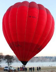 hot air ballooning at the Cradle of Humankind