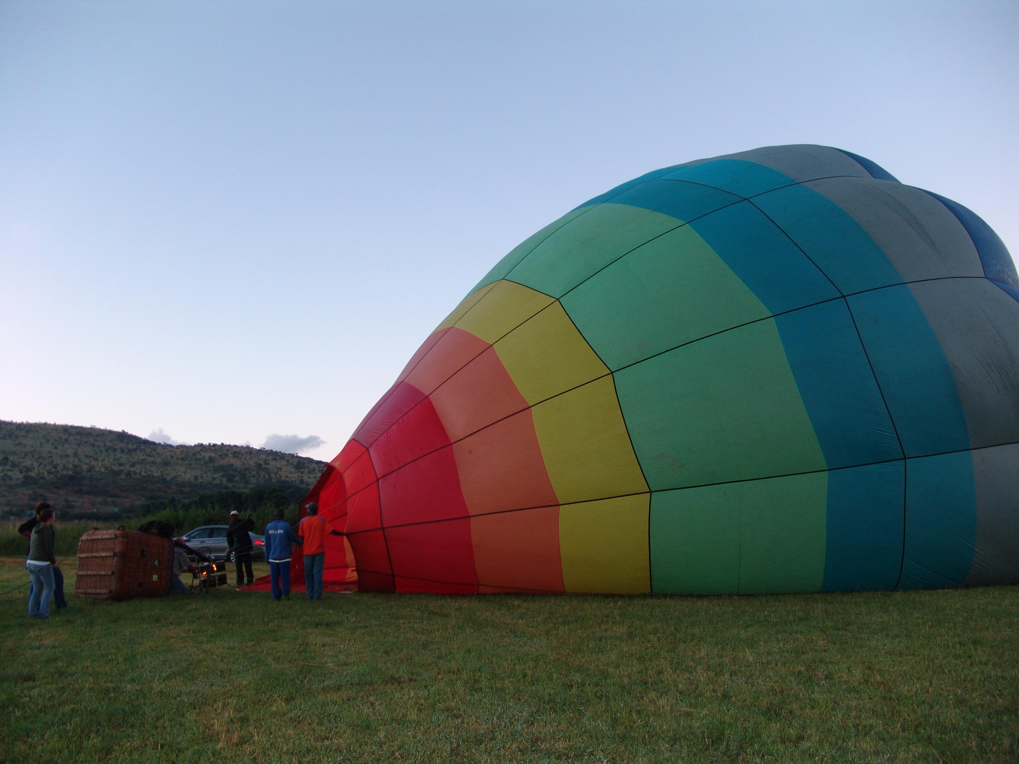 Ballooning At Hartbeespoort Dam