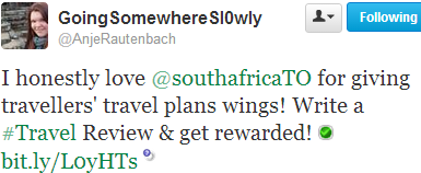Love southafrica.TO for giving travellers'travel plans wings