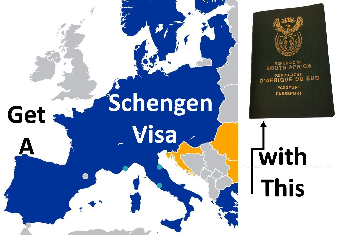 Schengen Visa Requirements For South Africans
