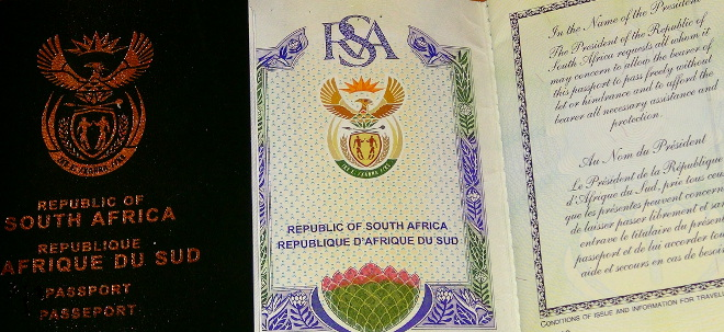 Visa Requirements for South Africans