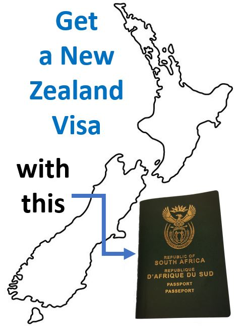 New Zealand Visa Requirements for South Africans